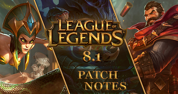 Download League of Legends Patch 8.1