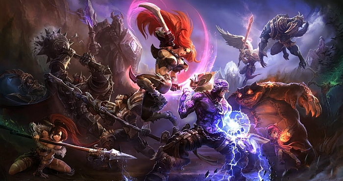 League of Legends controls E-SPORTS